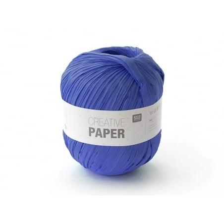 "Paper yarn - ""Creative paper"" - navy blue"