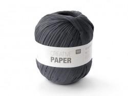 "Paper yarn - ""Creative paper"" - black"