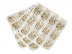 20 paper napkins - Pineapple