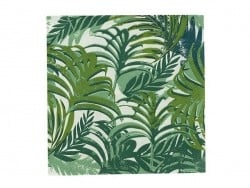 20 paper napkins - Palm tree leaves