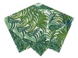 20 Papierservietten - Palme