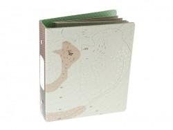 """Mini album classeur """"Recherche maison"""" 17,5 x 15,5 cm + pages cartonnées"""