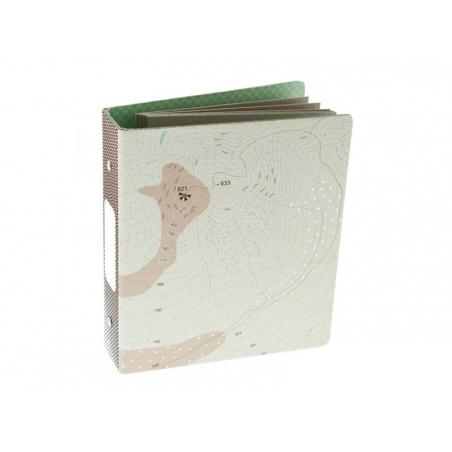 """Mini album classeur """"Flic flac floc"""" 17,5 x 15,5 cm + pages cartonnées"""