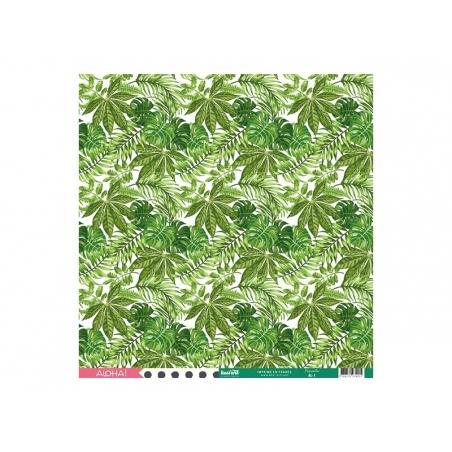 Scrapbooking paper - Papeete