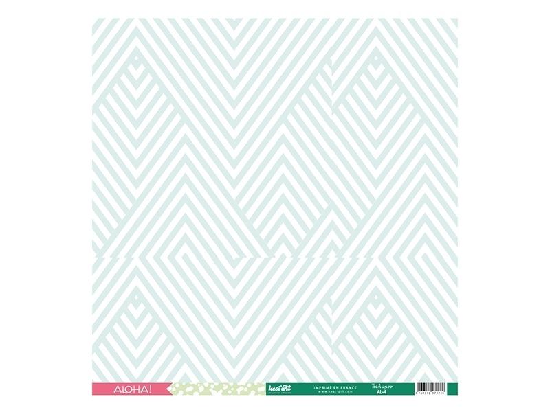 Scrapbooking paper - Teahupoo