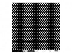 Feuille de scrapbooking - Cardstocks noir Kesi art - 1