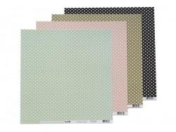 Acheter Feuille de scrapbooking - Cardstocks rose saumon - 0,99€ en ligne sur La Petite Epicerie - 100% Loisirs créatifs