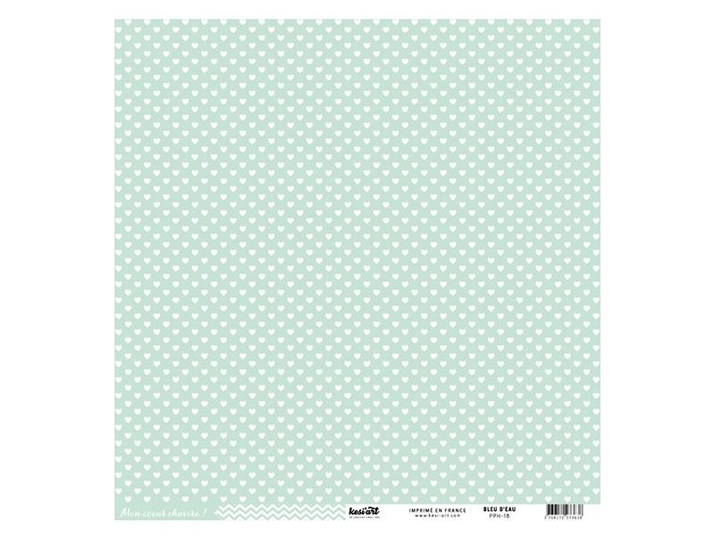 Acheter Feuille de scrapbooking - Cardstocks vert d'eau - 0,99€ en ligne sur La Petite Epicerie - 100% Loisirs créatifs