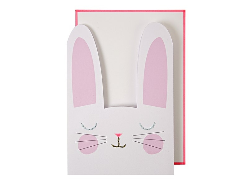 Birthday card - bunny