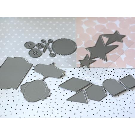 Acheter Forme de découpe Métaliks - 3 étoiles - 14,90€ en ligne sur La Petite Epicerie - 100% Loisirs créatifs