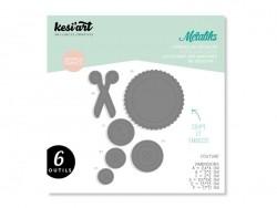 Forme de découpe Métaliks - couture Kesi art - 1