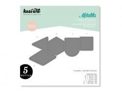 Forme de découpe Métaliks - géométrique Kesi art - 1