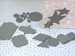 Métaliks die-cut shapes - geometric shapes