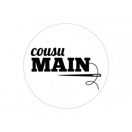 Wooden stamp - Cousu main
