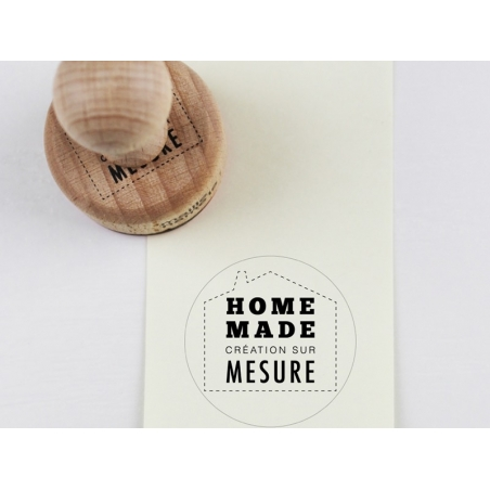 Wooden stamp - Homemade