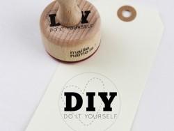 Tampons en bois - DIY