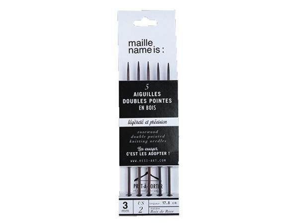 Acheter Aiguilles doubles pointes - 3 mm - 8,90€ en ligne sur La Petite Epicerie - 100% Loisirs créatifs