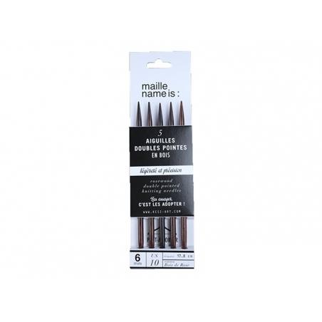 Acheter Aiguilles doubles pointes - 6 mm - 9,90€ en ligne sur La Petite Epicerie - 100% Loisirs créatifs