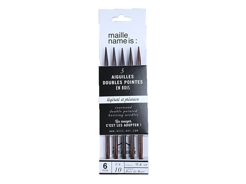Acheter Aiguilles doubles pointes - 6 mm - 9,90€ en ligne sur La Petite Epicerie - Loisirs créatifs