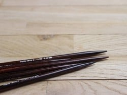 Aiguilles doubles pointes - 3 mm