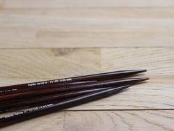 Aiguilles doubles pointes - 6 mm