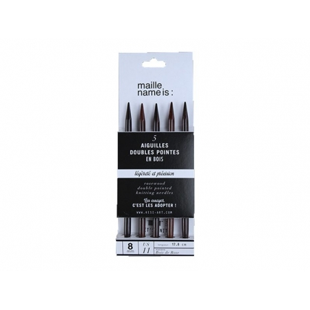 Acheter Aiguilles doubles pointes - 8 mm - 10,90€ en ligne sur La Petite Epicerie - 100% Loisirs créatifs