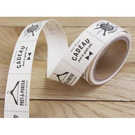 Acheter Rouleau d'étiquettes en tissus 2 cm - 8,90€ en ligne sur La Petite Epicerie - 100% Loisirs créatifs