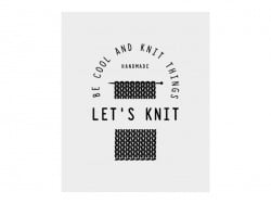 Tattoo temporaire - Let's knit Kesi art - 1