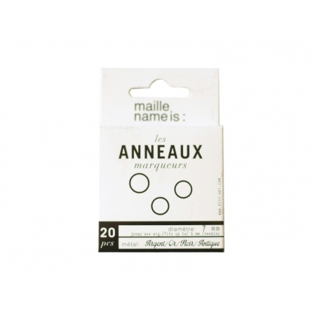 Acheter Anneaux marqueurs de maille - 2,90€ en ligne sur La Petite Epicerie - Loisirs créatifs