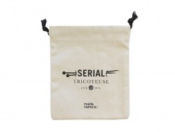 """Pouch - """"Serial tricoteuse"""""""