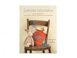 """Livre """"Lettres tricotées"""""""