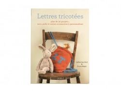 """Livre """"Lettres tricotées"""" Marabout - 1"""