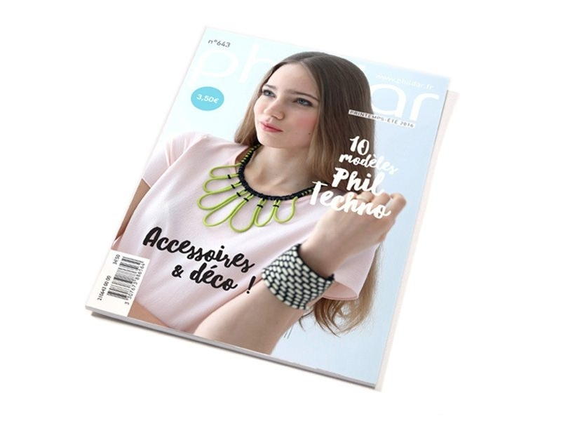 Magazine - Phildar no. 643 (in French)