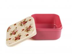 Boite carré hermétique / lunchbox - Lady Antoinette