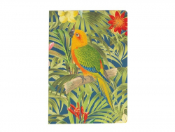 Notebook - yellow parrot