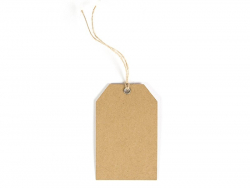 12 gift tags - tropical