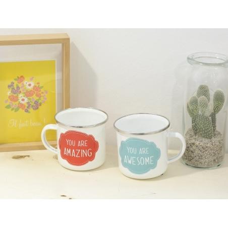 Acheter Mug / tasse en émail - You are amazing - 7,90€ en ligne sur La Petite Epicerie - Loisirs créatifs