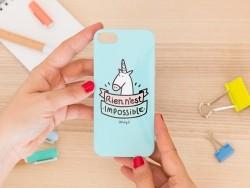 """iPhone 5/5S mobile case - """"Rien n'est impossible"""""""