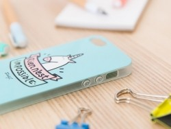 """Coque pour iphone 5/5S """"Rien n'est impossible"""" Mr Wonderful  - 3"""