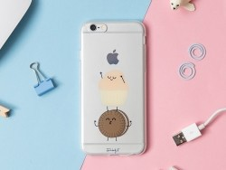 Coque pour iphone 6/6S Biscuit et muffin