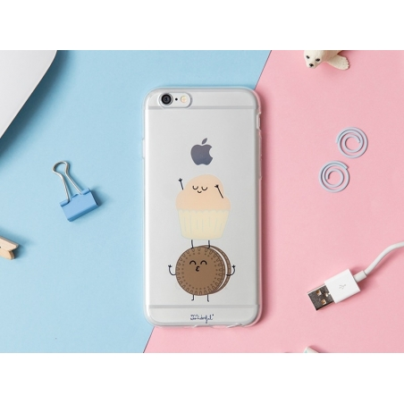 iPhone 6/6S mobile case - Biscuit and muffin