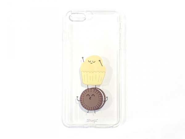 Coque pour iphone 6/6S PLUS Biscuit et muffin