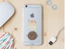 Handyhülle fürs iPhone 6/6S - Keks und Muffin