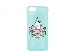 "Coque pour iphone 6/6S ""Rien n'est impossible"" Mr Wonderful  - 1"