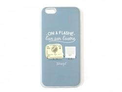 """iPhone 6/6S Plus mobile case - """"On a flashé l'un sur l'autre"""""""