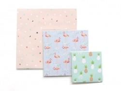 60 papiers à origami - tropical