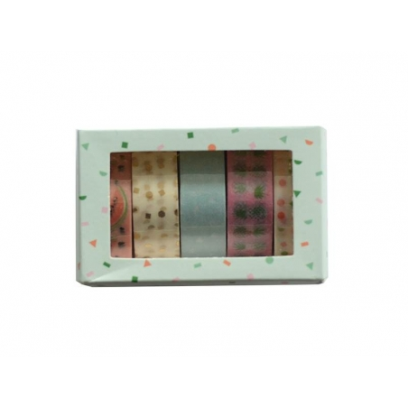 Set of 5 masking tapes - watermelon/pineapple Rico Design - 3