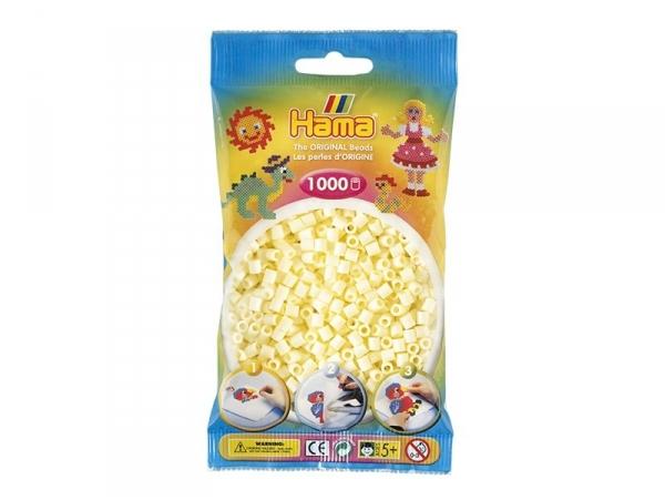 Bag of 1,000 HAMA MIDI beads - cream Hama - 1
