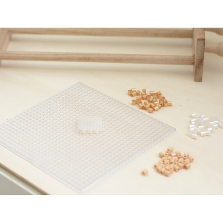 Bag of 1,000 HAMA MIDI beads - cream Hama - 2