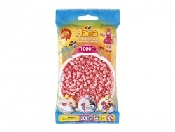 Bag of 1,000 HAMA MIDI beads - pink Hama - 1
